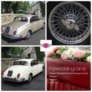 our classic wedding car hire choice