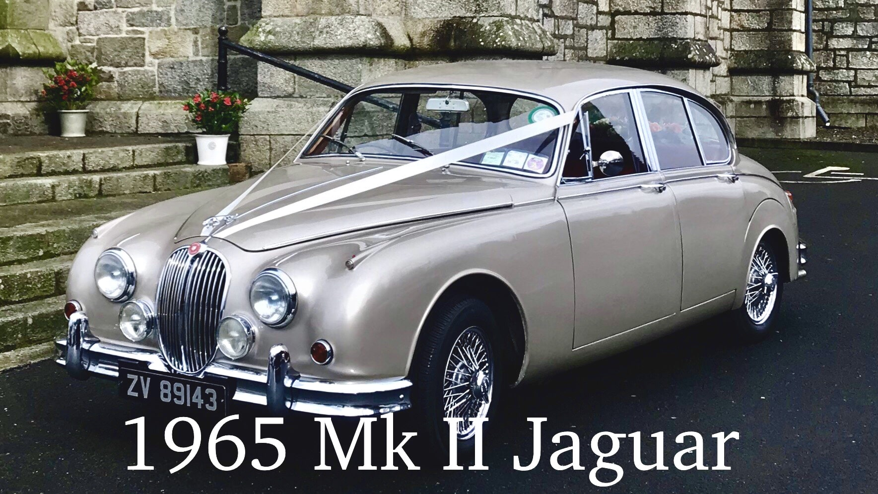 "One of our beautiful Jaguar Wedding Cars""width="