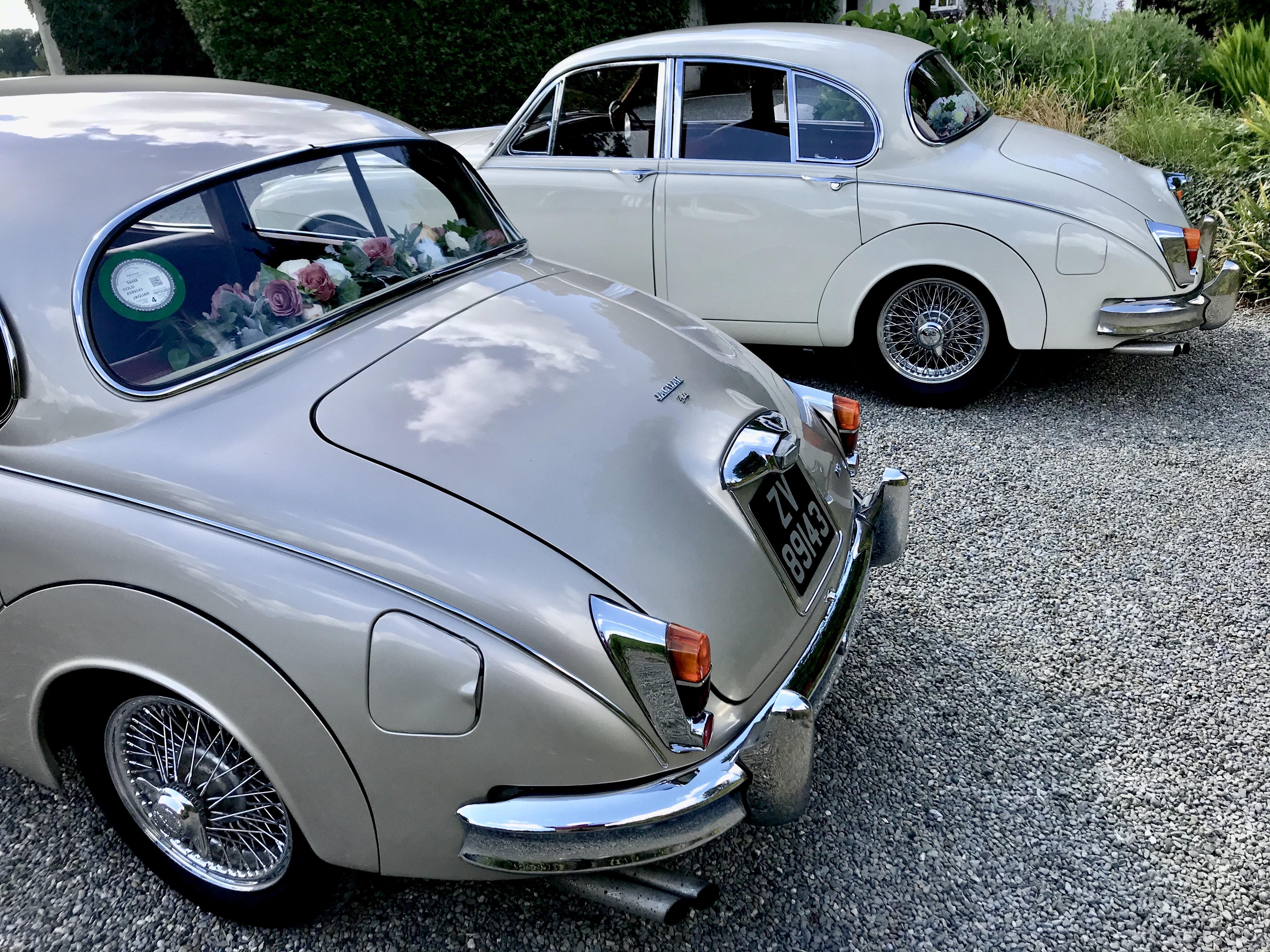 A Classic Mk II Jaguar